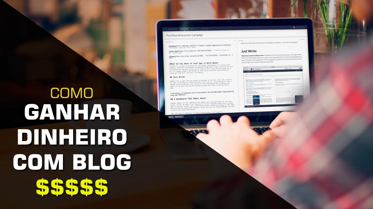 3 maneiras de começar a ganhar dinheiro com seu blog